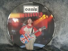 """OASIS """"UNDRUGGED"""" NEW PICTURE DISC ALBUM UNPLAYED ** BUY IT NOW L@@K **"""