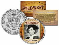 BELLE STARR * Wild West Series * JFK Kennedy Half Dollar U.S. Coin