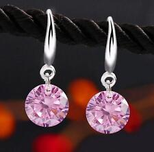 1 Pair Elegant Women Fashion Rhinestone Ear Stud Drop Earrings Crystal Jewelry