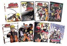 Naruto Shippuden Complete Anime Movie Series 1-8 inc. Boruto Box/DVD Set(s) NEW!
