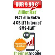 Sonder-Aktion AllNet Flat + 4 GB LTE Internet Flat -  9.99 € / Monat