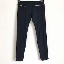 LNA Black Zipper Leggings with Pockets - Medium Size