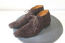 botines de ante marrón con encaje hombre KENZO talla 41 en muy buen estado