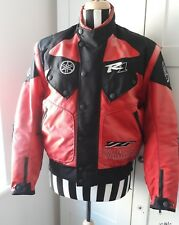Yamaha R1 Paddock Jacket Small Genuine Apparel Well Worn Motorcycle Jacket