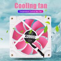 ID-COOLING ZF-12025-PINK ARGB 120mm Quiet PC Box Cooling Fan for CPU Cooler