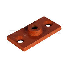 Highcraft Rod Hanger Plate, Copper Epoxy Coated Iron, 3/8 in. Threaded Rod