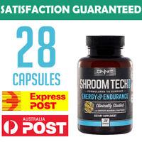 ONNIT Shroom Tech Sports 28 capsules Cordyceps Sinensis Rhodiola Ashwagandha JRE