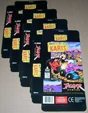 Atari Jaguar 64-Bit Games Console 4 x ATARI KARTS Game Box NEW P/N J9091E