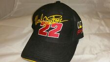 NASCAR CAT Racing Hat Cap Ward Burton #22 Sewn Adjustable Logo Bill Davis