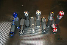 HANDLE BAR GRIPS FOR SUZUKI GSXR750 BANDIT HIGH DENSITY RUBBER BILLET ALUMINUM