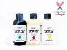 Vegan 100% Natural Essential Oil Variety Pack Coconut Oil Pulling Mouthwash