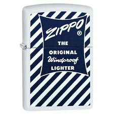 Zippo 29413, The Original Windproof Lighter, White Matte Finish Lighter