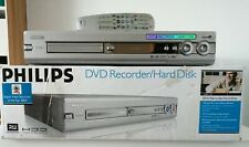 Philips DVD Recorder Player HDRW 720 with Remote 80GB HDD TESTED