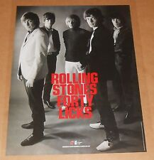 The Rolling Stones Forty Licks Poster Original 2002 Promo 24x18 RARE