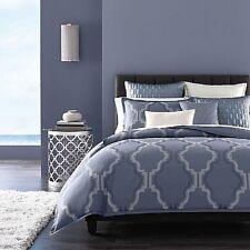 NEW Hudson Park Windsor FULL/QUEEN Duvet Cover BLUE Bedding Retail $355 D898