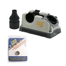 Drill Doctor DD750X Drill Bit Sharpener with Case, and DA31320GF Diamond Wheel