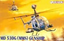 "Dragon 1/35 3526 MD 530G (MMS) Helicopter"" Gunship """