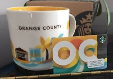 Starbucks Orange County Coffee Mug You are Here OC Gift Card YAH California New