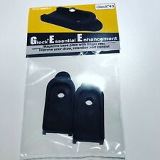 Glock 43 magazine base plate with finger rest - GeePlate