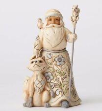 Jim Shore Hwc Gracious Giving To All Woodland Santa Christmas Figurine 4053692