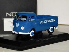 VOLKSWAGEN T1B TRANSPORTER BLUE NOREV 840215 1/43
