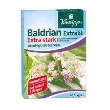 Kneipp Baldrian Extrakt extra stark Drag. 40st 4097717
