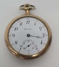 Hamilton 17 Jewels 50mm Pocket Watch As-Is