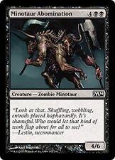 MTG Magic M14 - (4x) Minotaur Abomination/Abomination minotaure, English/VO