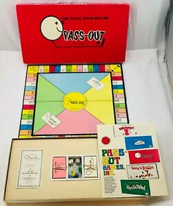 1971 Pass Out Game by Frank Bresee Complete in Great Condition FREE SHIPPING
