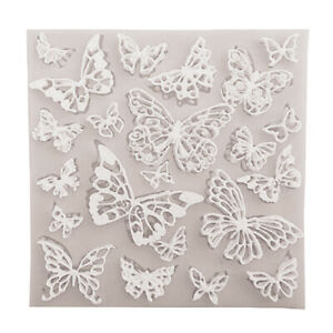 1Pc Butterfly Silicone Molds DIY Lace Cupcake Fondant Molds Cake Decorating Todn
