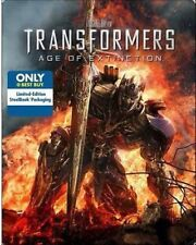 Transformers: Age of Extinction (Blu-ray/DVD, 2014, Ultraviolet; Steelbook;...