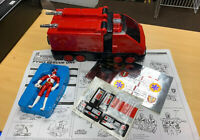 Power Rangers Light Speed Rescue Pyro Rescue One With Unused Stickers And Manual