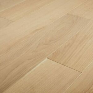 GoodHome Halland White Oak Real wood top layer flooring, 1.37m² Pack-7083