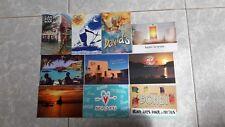 lote de 10 postales de publicidad de Ibiza, postalfree