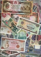 100 DIFFERENT WORLD BANKNOTE COLLECTION BUNDLE WHOLESALE CURRENCY 10,000 SETS