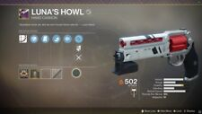Destiny 2 Lunas Howl/Mountain top/Recluse/2100 Glory Points (Ranked Wins) Xbox.