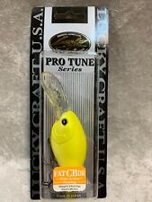 Lucky Craft Fat CB DR Floating Wide Action Lure New In Package Pearl Lemon