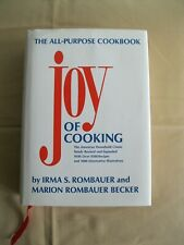Joy of Cooking-by Irma & Marion Rombauer  (First Scribner Edition 1995)