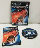 Need For Speed Underground 1 (Sony Playstation 2 ps2) Complete CIB Free Shipping