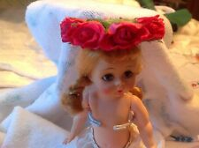 10 doll flowered hats new