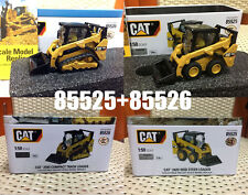 1/50 Caterpillar Cat 259D Track Loader + 242D Skid Street Loader, DM, 2 Units