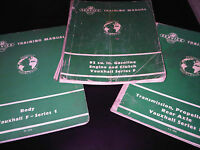 Vauxhall Victor Series F FD FS FW Service Training Workshop Manual Engine Body