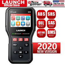 2020NEW! LAUNCH CR629 OBD2 Code Reader Scanner Fault Diagnostic Tool ABS SRS