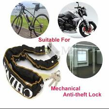 24'' Heavy Duty Motorcycle Scooter Bicycle Bike Chain Lock Steel High Security