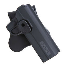 "CYTAC CY-1911 POLYMER HOLSTER - COLT-1911 5"" AIRSOFT SOFTAIR"