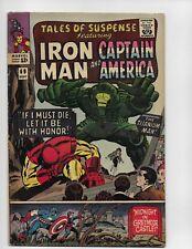 Tales Of Suspense 69 - Vg 4.0 - Iron Man - Captain America (1965)