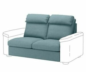 NEW IKEA LIDHULT 904.055.72 Loveseat Sleeper 2 Seat Section Cover Gassebol Blue