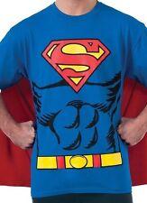 *NEW Mens DC Comics Superman Costume T-shirt Halloween Shirt Size XL Extra Large