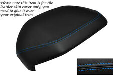 BLUE STITCH DASH COWL HOOD LEATHER SKIN COVER FITS LAND ROVER FREELANDER 98-06