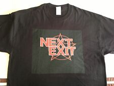 NEXT EXIT Black Tshirt